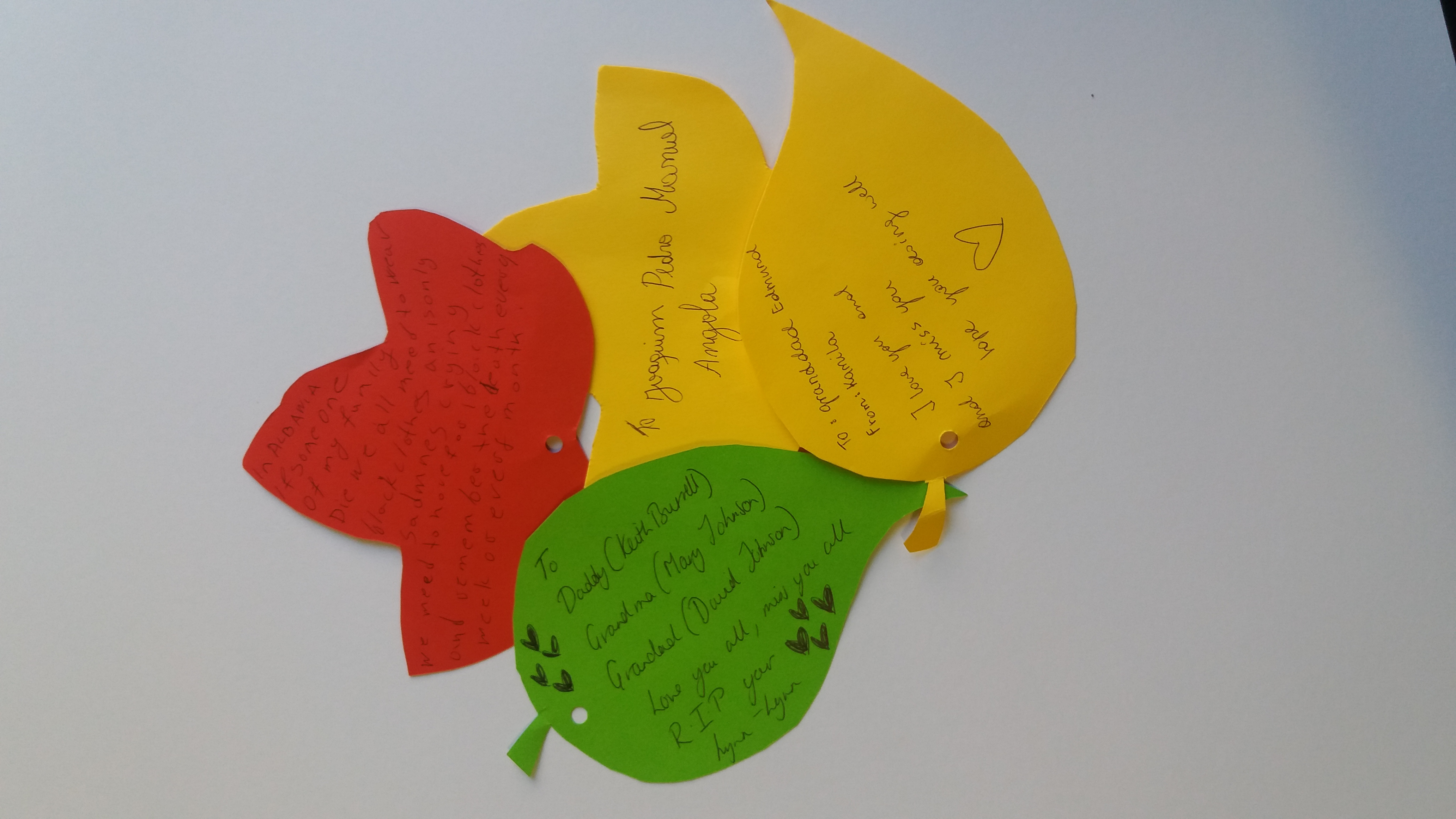 Black History Month 2016 Nottingham Library Nine Nights Exhibition Rememberance Tree (3)